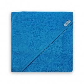 Badcape aqua blauw