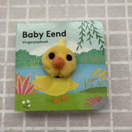 Vingerpopboekje baby eend