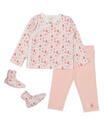 Nijntje set shirtje, broekje en slofjes roze