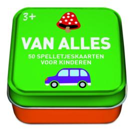 50 spelkaarten voor kinderen thema Vanalles
