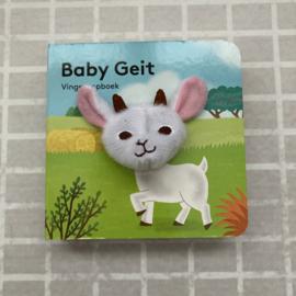 Vingerpopboekje baby geit