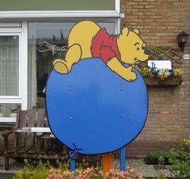 Geboortebord Winnie the Pooh