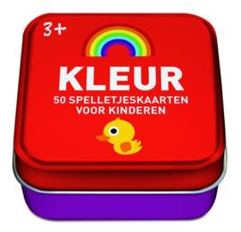 50 spelkaarten voor kinderen thema Kleur