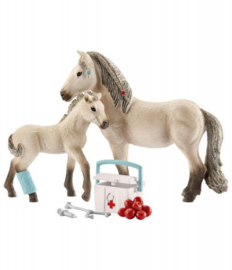 Schleich EHBO set en IJslandse paarden