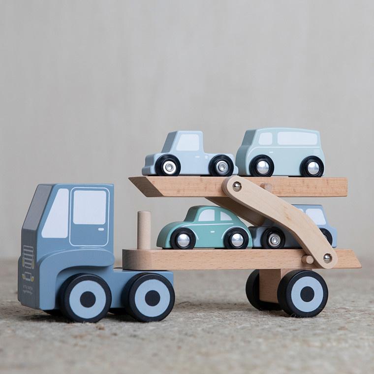 Little Dutch Transporter | Houten speelgoed adventure