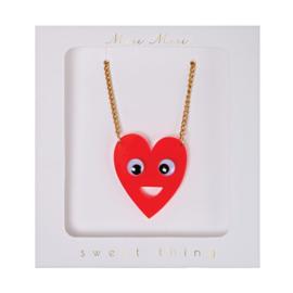 HAPPY HEART NECKLACE - MERI MERI