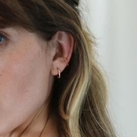 FINE FUCHSIA EAR CUFF - ORELIA