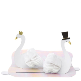 WEDDING SWAN CARD  - MERI MERI