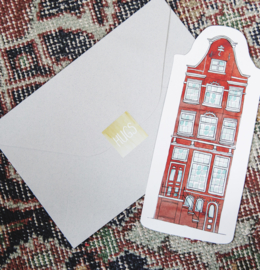 CUT OUT CARD HOUSE - THE GIFT LABEL