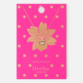 TROPICAL FLOWER DITSY NECKLACE - ORELIA