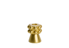 SCULPTURE CANDLE GOUD