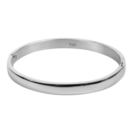 BANGLE BOL 6MM ZILVER - KALLIKALLI