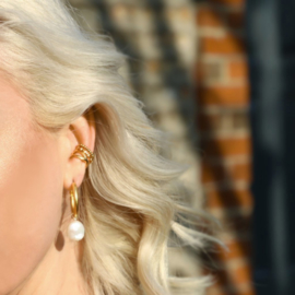 JAGGED DIAMOND SHAPE EAR CUFF - ORELIA