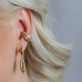 FINE PAVE EAR CUFF - ORELIA