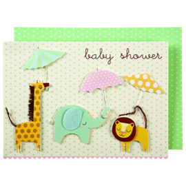 BABYSHOWER CARD  - MERI MERI