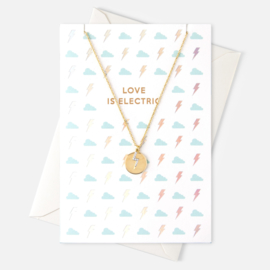 LOVE IS ELECTRIC NECKLACE - ORELIA