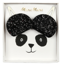 PANDA EAR HAIR CLIPS  - MERI MERI