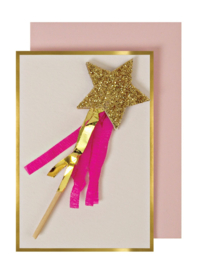 MAGIC WAND ENCLOSURE CARD  - MERI MERI