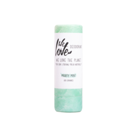 NATUURLIJKE DEODERANT STICK MIGHTY MINT - WE LOVE THE PLANET