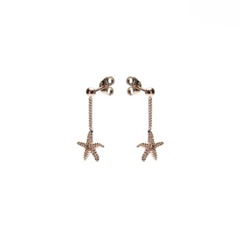 CHAINSTUDS SEASTAR ROSEPLATED - KARMA