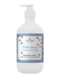BABY BODY WASH HELLO WORLD  250ML  - THE GIFT LABEL