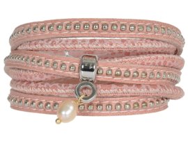 MOESSS MEA FLORAL PASTEL ROSE - PIMPS AND PEARLS