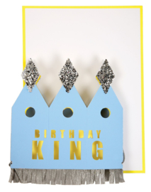 CROWNED KING CARD  - MERI MERI