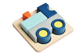 Puzzle en Bois 3D Train - Assembler & Empiler - 12M+ Jouet en Bois