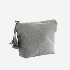 COTTON TOILET BAG WITH TASSELS