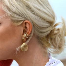 CHUNKY PEARL EAR CUFF - ORELIA