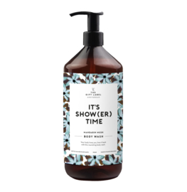 BODY WASH IT'S SHOWER TIME - THE GIFT LABEL