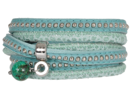 MOESSS MEA SEA GREEN - PIMPS AND PEARLS