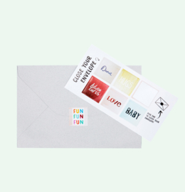 CUT OUT CARD RING - THE GIFT LABEL