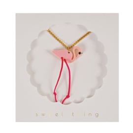 FLAMINGO NECKLACE - MERI MERI