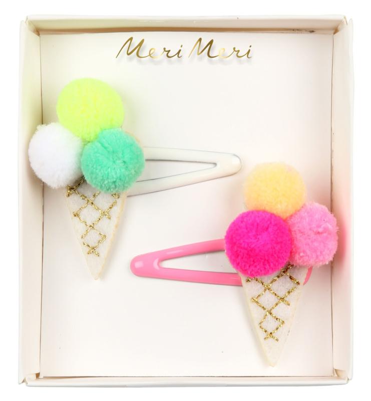 ICE CREAM HAIR CLIPS - MERI MERI