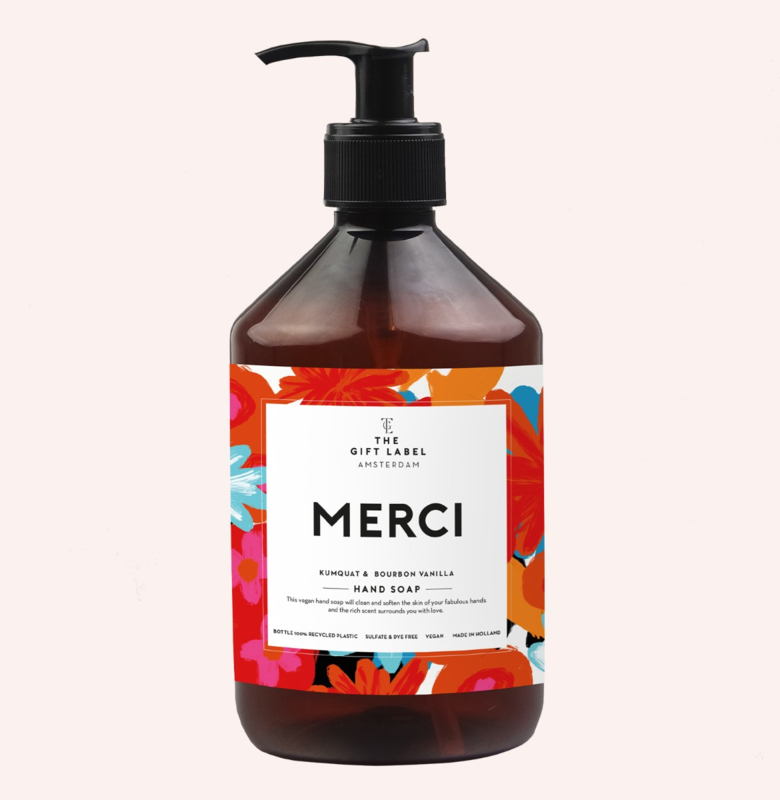 HANDZEEP MERCI 500ML - THE GIFT LABEL