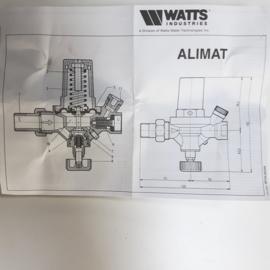 Watts Alimat vularmatuur