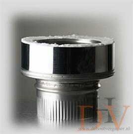 ISOduct Onder Aansluitstuk 150mm