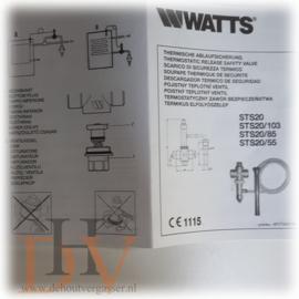 Watts STS 20 thermische veiligheid