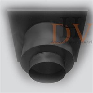 Aansluitstuk 150-230mm met afwerkplaat