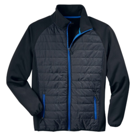 Active combi-jack softshell/nylon