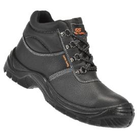 Werkschoen Walkmate OSLO hoog zwart+ kruipneus S3