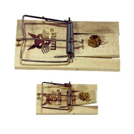 Muizen en rattenval hout