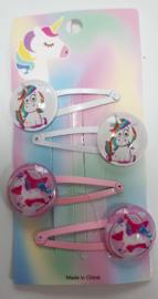 Unicorn haarknipjes