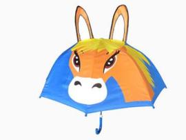 Kinder paraplu paard