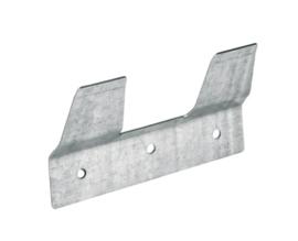 Emmer ophangplaatje voor kalveremmer afgeplat