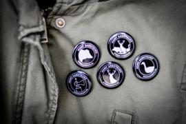 Hunt Saboteurs buttons