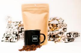 Animal Rights mok met biologische koffie