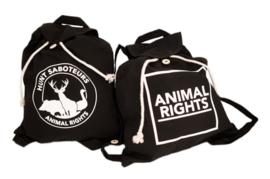 Festival Backpack, Hunt Saboteurs
