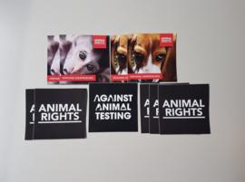 Stickerpack 'Against Animal Testing'